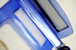 Fishfine Waterproof Camera blue Case Seal kuat